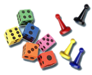 dice learning box preschool