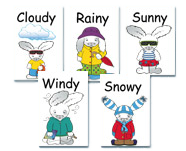weather cards learning box preschool